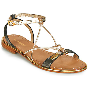 Schoenen Dames Sandalen / Open schoenen Les Tropéziennes par M Belarbi HIRONDEL Zwart / Irisé