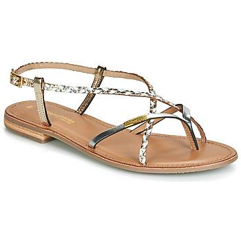 Schoenen Dames Sandalen / Open schoenen Les Tropéziennes par M Belarbi MONATRES Wit / Goud