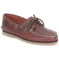 Schoenen Heren Bootschoenen Timberland CLASSIC 2 EYE Brown
