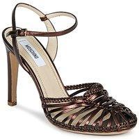 Schoenen Dames Sandalen / Open schoenen Moschino MA1603 Ebano