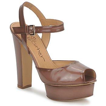 Schoenen Dames Sandalen / Open schoenen Eva Turner ERSILIA Brown