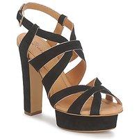 Schoenen Dames Sandalen / Open schoenen Eva Turner LIVIA Zwart