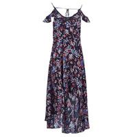 Textiel Dames Lange jurken Guess BORA Zwart / Multikleuren