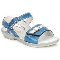 Schoenen Meisjes Sandalen / Open schoenen GBB CARAIBES FIZZ Blauw / Wit