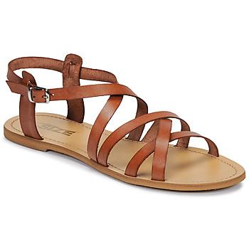 Schoenen Dames Sandalen / Open schoenen So Size IDITRON Brown