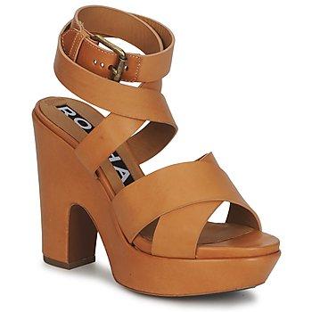 Schoenen Dames Sandalen / Open schoenen Rochas RO18082 Brown