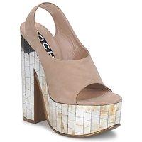 Schoenen Dames Sandalen / Open schoenen Rochas RO18175 Tabacco