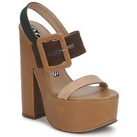 Schoenen Dames Sandalen / Open schoenen Rochas RO18231 Brun-gaucho / Beige