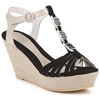 Schoenen Dames Sandalen / Open schoenen Regard RAFAZA Zwart