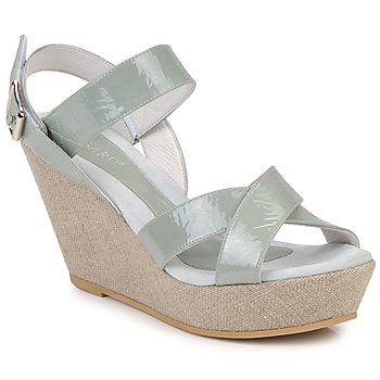 Schoenen Dames Sandalen / Open schoenen Regard RAGA Groen / Pale