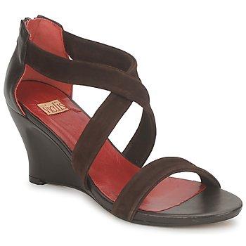 Schoenen Dames Sandalen / Open schoenen Vialis NIVEL Brown