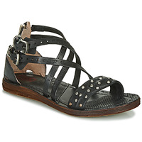 Schoenen Dames Sandalen / Open schoenen Airstep / A.S.98 RAMOS CLOU Zwart