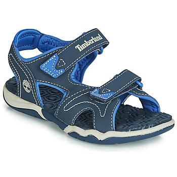 Schoenen Kinderen Sandalen / Open schoenen Timberland ADVENTURE SEEKER 2 STRAP Blauw