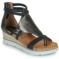 Schoenen Dames Sandalen / Open schoenen Mjus TAPASITA Zwart / Zilver