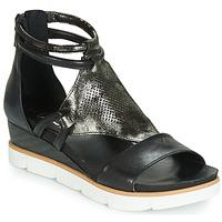Schoenen Dames Sandalen / Open schoenen Mjus TAPASITA Zwart / Métalisé