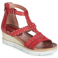 Schoenen Dames Sandalen / Open schoenen Mjus TAPASITA CLOU Rood