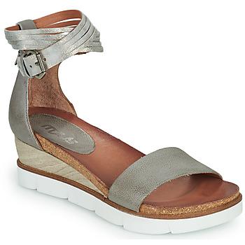 Schoenen Dames Sandalen / Open schoenen Mjus TAPASITA Grijs / Zilver