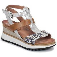 Schoenen Dames Sandalen / Open schoenen Mjus TARDE  camel / Leo