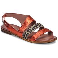 Schoenen Dames Sandalen / Open schoenen Mjus CHAT BUCKLE Rood / Leopard