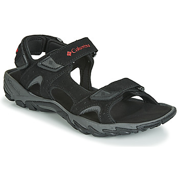 Schoenen Heren Outdoorsandalen Columbia SANTIAM 3 STRAP Zwart