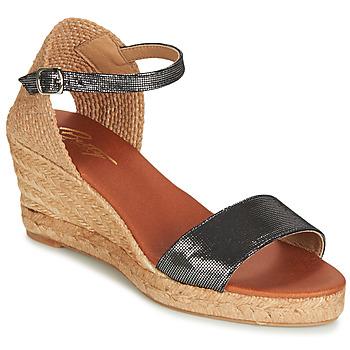 Schoenen Dames Sandalen / Open schoenen Betty London JASSIALE Zwart