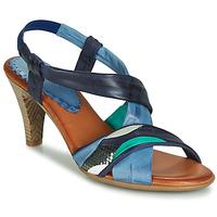 Schoenen Dames Sandalen / Open schoenen Betty London POULOI Blauw / Groen