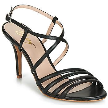 Schoenen Dames Sandalen / Open schoenen Betty London JIKOTIPE Zwart