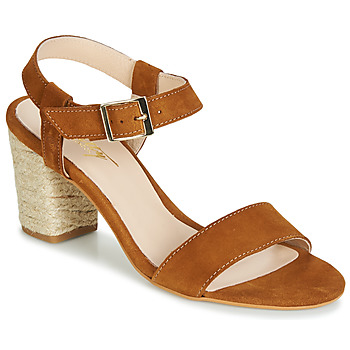 Schoenen Dames Sandalen / Open schoenen Betty London JIKOTIFE  camel