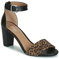 Schoenen Dames Sandalen / Open schoenen Betty London CRETOLIA Zwart