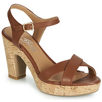 Schoenen Dames Sandalen / Open schoenen Betty London JIKOTIK  camel