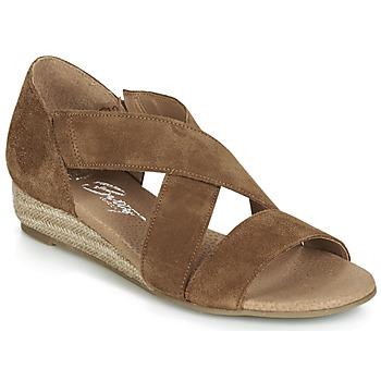 Schoenen Dames Sandalen / Open schoenen Betty London JIKOTE  camel