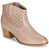 Schoenen Dames Enkellaarzen Betty London JIKOTEVE Taupe