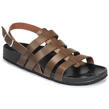 Schoenen Heren Sandalen / Open schoenen Dream in Green JAKALBERT Brown