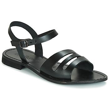 Schoenen Dames Sandalen / Open schoenen Dream in Green JAKALETTE Zwart