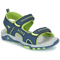 Schoenen Kinderen Sandalen / Open schoenen Kangaroos K-LOGAN Marine / Groen