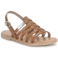 Schoenen Meisjes Sandalen / Open schoenen Les Tropéziennes par M Belarbi MANGUE Tan