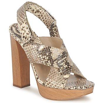 Schoenen Dames Sandalen / Open schoenen Michael Kors MK18072 Python