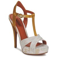 Schoenen Dames Sandalen / Open schoenen Missoni TM30 Gold / Zilver