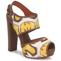 Schoenen Dames Sandalen / Open schoenen Missoni TM81 Brown / Beige / Geel