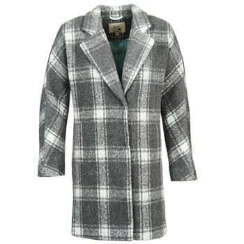 Textiel Dames Mantel jassen Yumi EHIME Wit / Grijs
