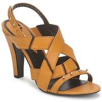 Schoenen Dames Sandalen / Open schoenen Karine Arabian DOLORES Safran-noir