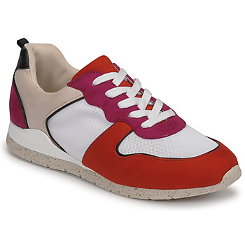 Schoenen Dames Lage sneakers André ADO Rood