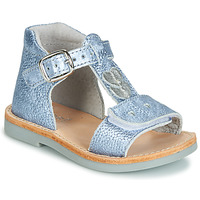 Schoenen Jongens Sandalen / Open schoenen André POESIE Blauw