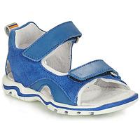Schoenen Jongens Sandalen / Open schoenen André PLANCTON Blauw