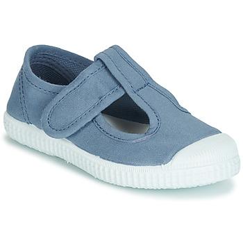 Schoenen Meisjes Sandalen / Open schoenen André NAVIRE Blauw