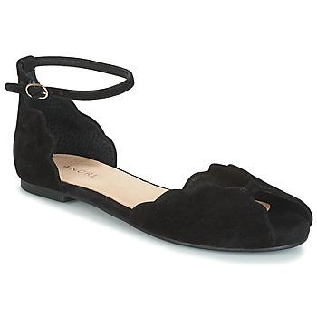 Schoenen Dames Sandalen / Open schoenen André SERINGAT Zwart