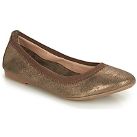 Schoenen Dames Ballerina's André CARLARA Brons