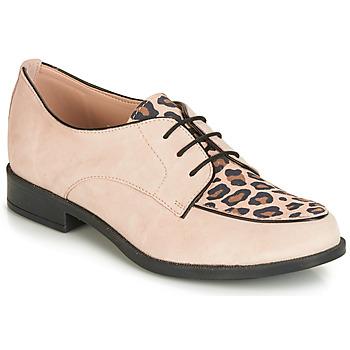 Schoenen Dames Derby André CAPVERT Leopard