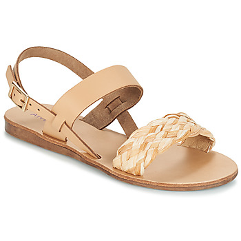 Schoenen Dames Sandalen / Open schoenen André RAMATUELLA Beige