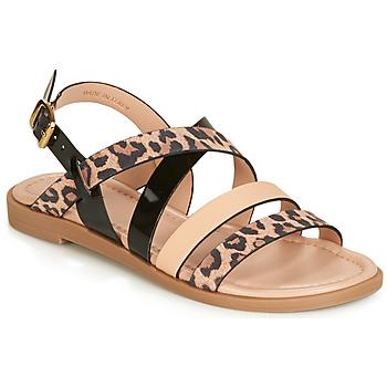 Schoenen Dames Sandalen / Open schoenen André RADJAH Leopard